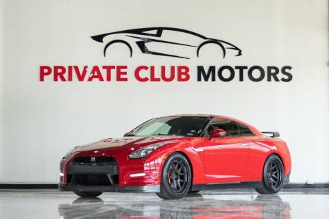2014 Nissan GT-R for sale at Private Club Motors in Houston TX