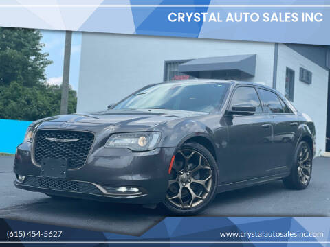 2016 Chrysler 300 for sale at Crystal Auto Sales Inc in Nashville TN