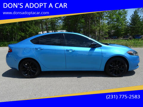 2016 Dodge Dart for sale at DON'S ADOPT A CAR in Cadillac MI