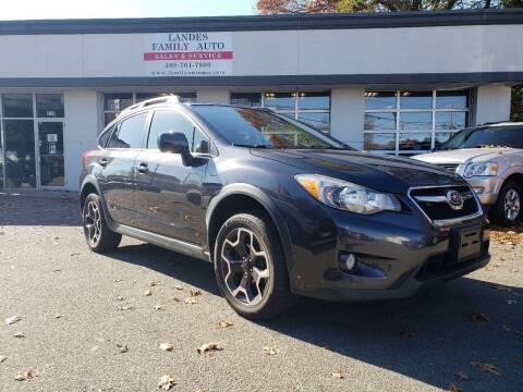 2013 Subaru XV Crosstrek for sale at Landes Family Auto Sales in Attleboro MA