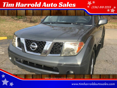 2005 Nissan Pathfinder for sale at Tim Harrold Auto Sales in Wilkesboro NC