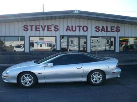 2002 Chevrolet Camaro for sale at STEVE'S AUTO SALES INC in Scottsbluff NE
