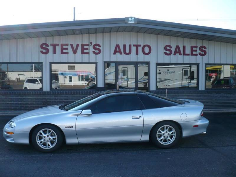 2002 Chevrolet Camaro for sale at STEVE'S AUTO SALES INC in Scottsbluff NE