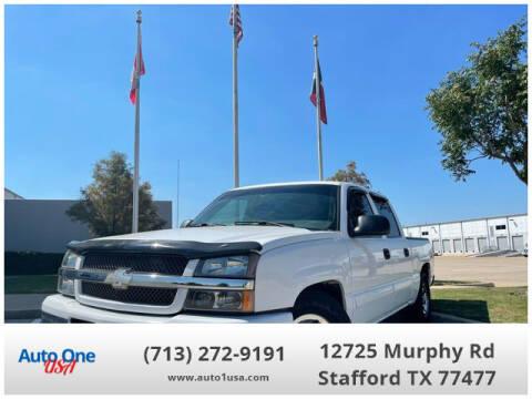 2005 Chevrolet Silverado 1500 for sale at Auto One USA in Stafford TX