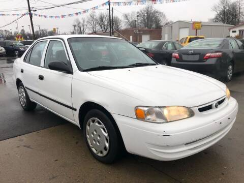 2000 Toyota Corolla for sale at Wise Investments Auto Sales in Sellersburg IN