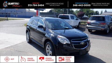 2013 Chevrolet Equinox for sale at Quattro Motors 2 in Farmington Hills MI