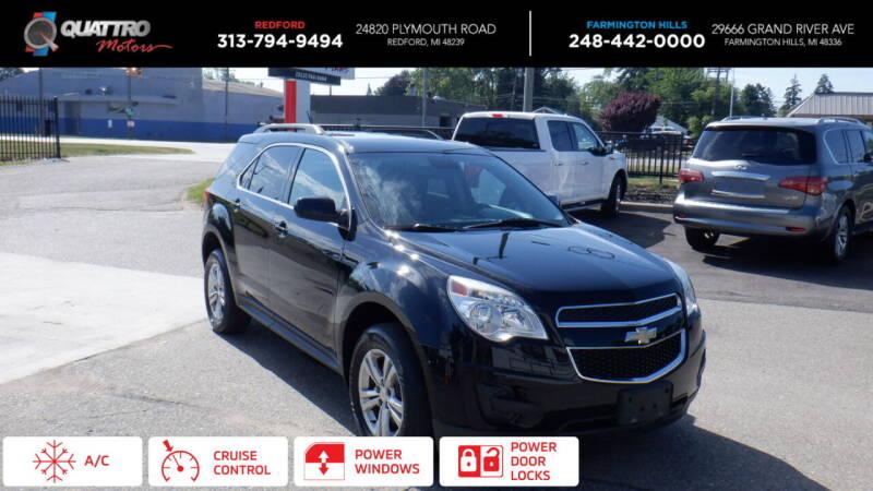 2013 Chevrolet Equinox for sale at Quattro Motors 2 in Farmington Hills MI