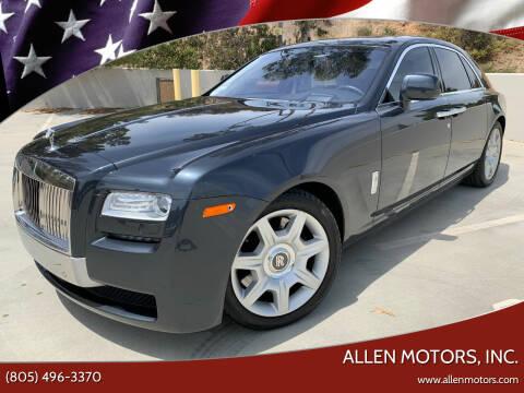 2011 Rolls-Royce Ghost for sale at Allen Motors, Inc. in Thousand Oaks CA