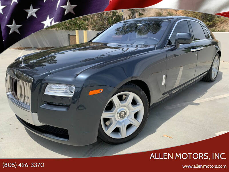 2011 Rolls-Royce Ghost for sale at Allen Motors, Inc. in Thousand Oaks CA