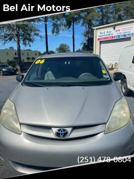 2006 Toyota Sienna for sale at Bel Air Motors in Mobile AL