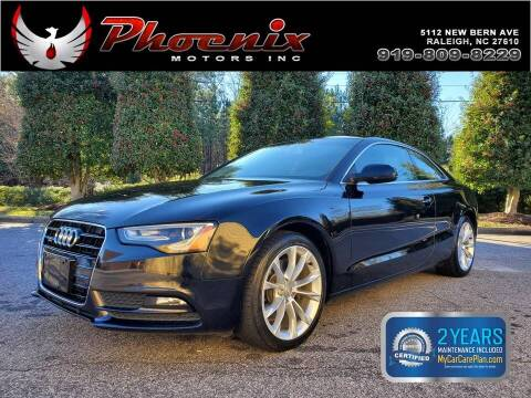 2014 Audi A5 for sale at Phoenix Motors Inc in Raleigh NC