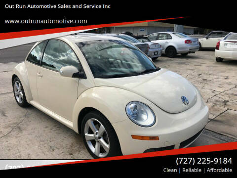 2006 Volkswagen New Beetle for sale at Out Run Automotive Sales and Service Inc in Tampa FL