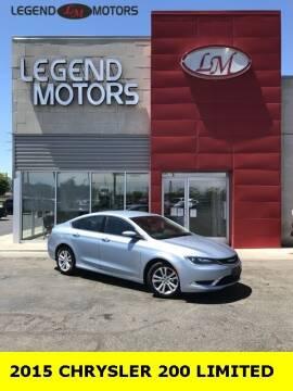 2015 Chrysler 200 for sale at Legend Motors of Ferndale in Ferndale MI