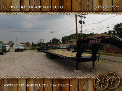 2020 ELITE TRAILER for sale at Porks Chop Truck and Auto in Cheyenne WY