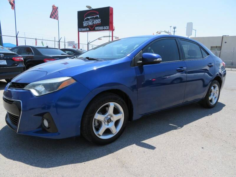 2014 Toyota Corolla for sale at Moving Rides in El Paso TX