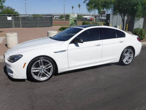 2017 BMW 6 Series for sale at J & E Auto Sales in Phoenix AZ