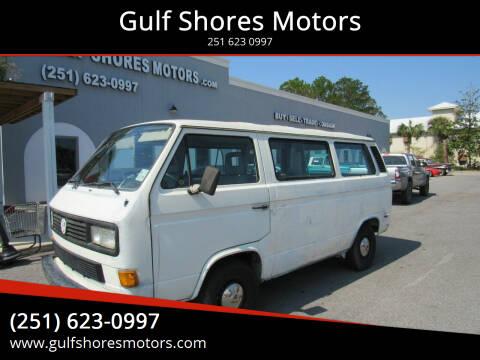 1991 Volkswagen Vanagon for sale at Gulf Shores Motors in Gulf Shores AL