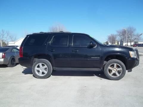 2008 Chevrolet Tahoe for sale at BRETT SPAULDING SALES in Onawa IA
