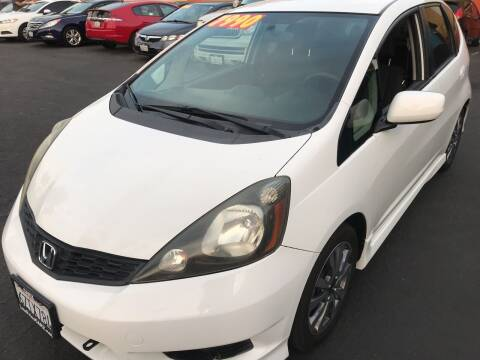 2013 Honda Fit for sale at CARZ in San Diego CA