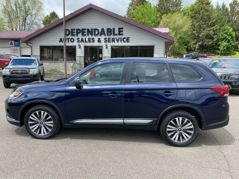 2019 Mitsubishi Outlander for sale at Dependable Auto Sales and Service in Binghamton NY