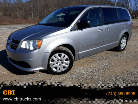 2014 Dodge Grand Caravan for sale at CBI in Logan OH