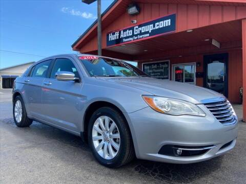 2014 Chrysler 200 for sale at HUFF AUTO GROUP in Jackson MI