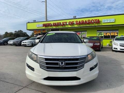 2010 Honda Accord Crosstour for sale at Auto Outlet of Sarasota in Sarasota FL