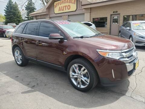 2012 Ford Edge for sale at AFFORDABLE AUTO, LLC in Green Bay WI