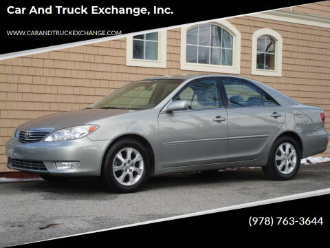 2006 Toyota Camry for sale at Car and Truck Exchange, Inc. in Rowley MA