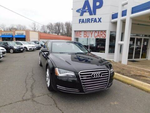 2012 Audi A8 for sale at AP Fairfax in Fairfax VA