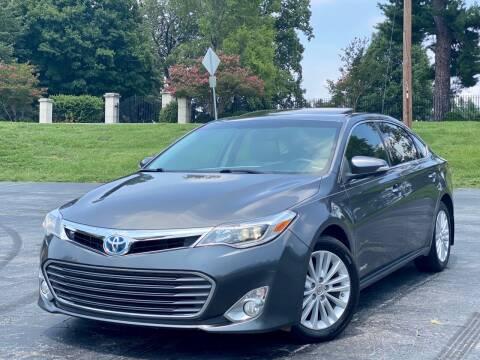 2013 Toyota Avalon Hybrid for sale at Sebar Inc. in Greensboro NC