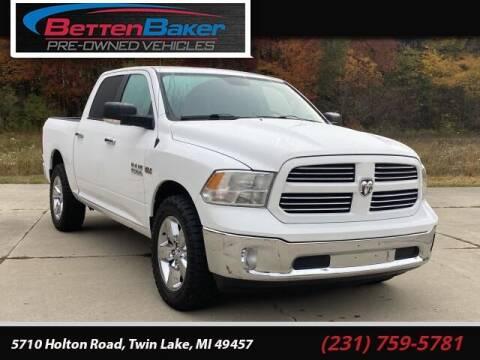 2014 RAM Ram Pickup 1500 for sale at Betten Baker Preowned Center in Twin Lake MI