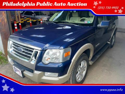 2007 Ford Explorer for sale at Philadelphia Public Auto Auction in Philadelphia PA