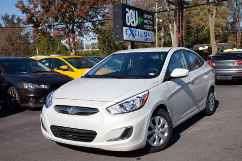 2016 Hyundai Accent for sale at EXCLUSIVE MOTORS in Virginia Beach VA