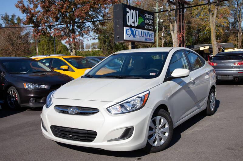 2016 Hyundai Accent for sale at EXCLUSIVE MOTORS in Virginia Beach VA