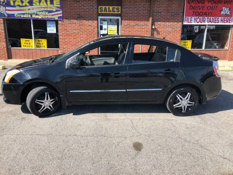 2012 Nissan Sentra for sale at Atlas Cars Inc. in Radcliff KY