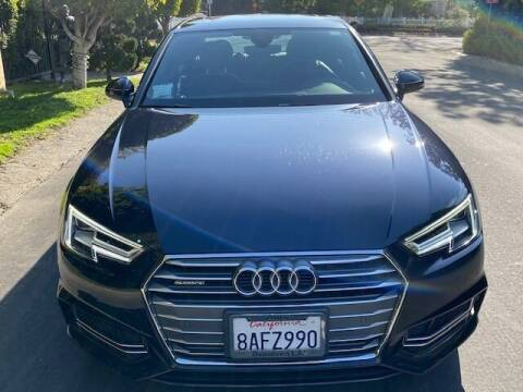2018 Audi A4 for sale at Car Lanes LA in Valley Village CA