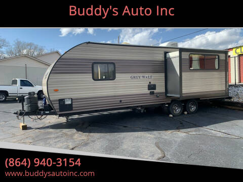 2017 Forest River GREY WOLF M24RK for sale at Buddy's Auto Inc in Pendleton, SC