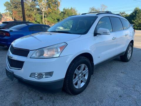 2010 Chevrolet Traverse for sale at ATLANTA AUTO WAY in Duluth GA