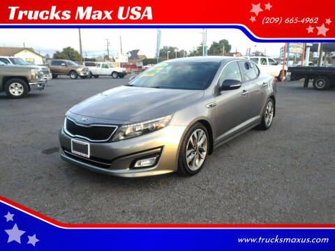 2014 Kia Optima for sale at Trucks Max USA in Manteca CA