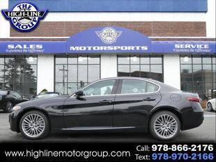 2017 Alfa Romeo Giulia for sale at Highline Group Motorsports in Lowell MA