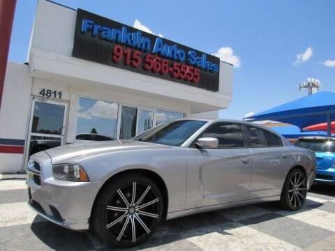 2011 Dodge Charger for sale at Franklin Auto Sales in El Paso TX
