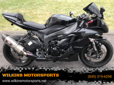 2009 Kawasaki Ninja ZX-6R for sale at WILKINS MOTORSPORTS in Brewster NY
