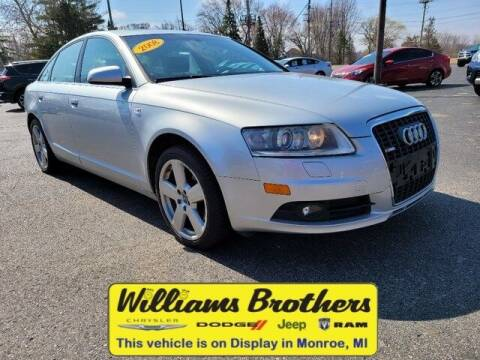 2008 Audi A6 for sale at Williams Brothers - Pre-Owned Monroe in Monroe MI