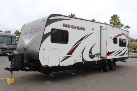 2015 Forest River Shockwave DX for sale at Rancho Santa Margarita RV in Rancho Santa Margarita CA