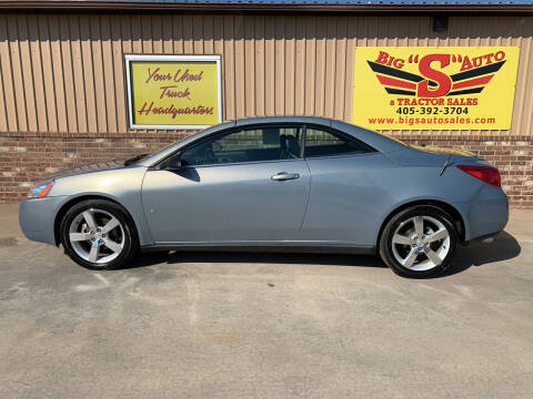 2007 Pontiac G6 for sale at BIG 'S' AUTO & TRACTOR SALES in Blanchard OK