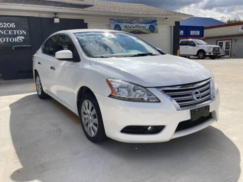 2013 Nissan Sentra for sale at Princeton Motors in Princeton TX