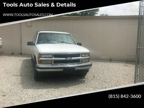 1999 Chevrolet Suburban for sale at Tools Auto Sales & Details in Pontiac IL