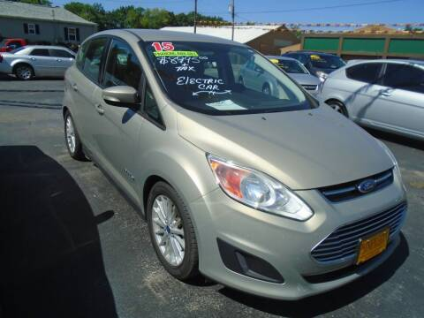 2015 Ford C-MAX Hybrid for sale at River City Auto Sales in Cottage Hills IL