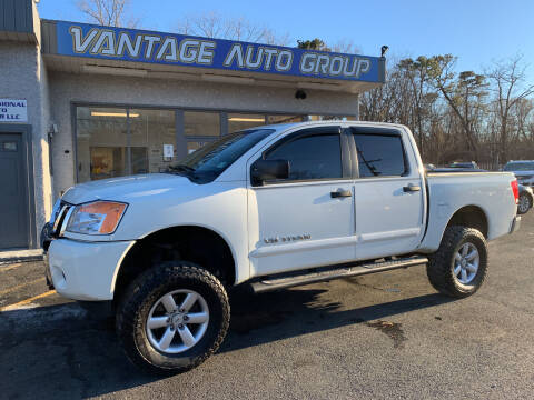 2014 Nissan Titan for sale at Vantage Auto Group in Brick NJ